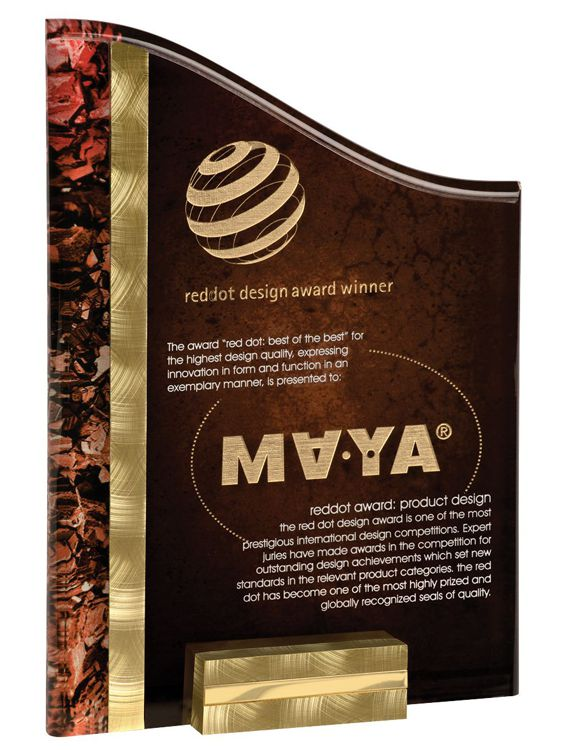 VPX816BGR SunRay Acrylic Award