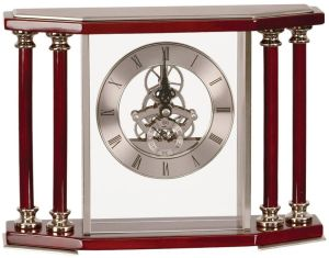 EX104 Executive Silver Clock