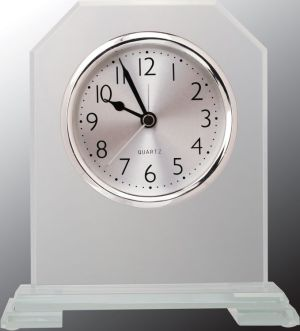 Cornerstone Glass Clock GCK401
