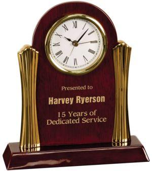 T007 Rosewood Desk Clock