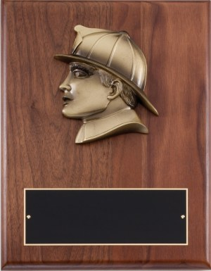Fireman Plaque AT108