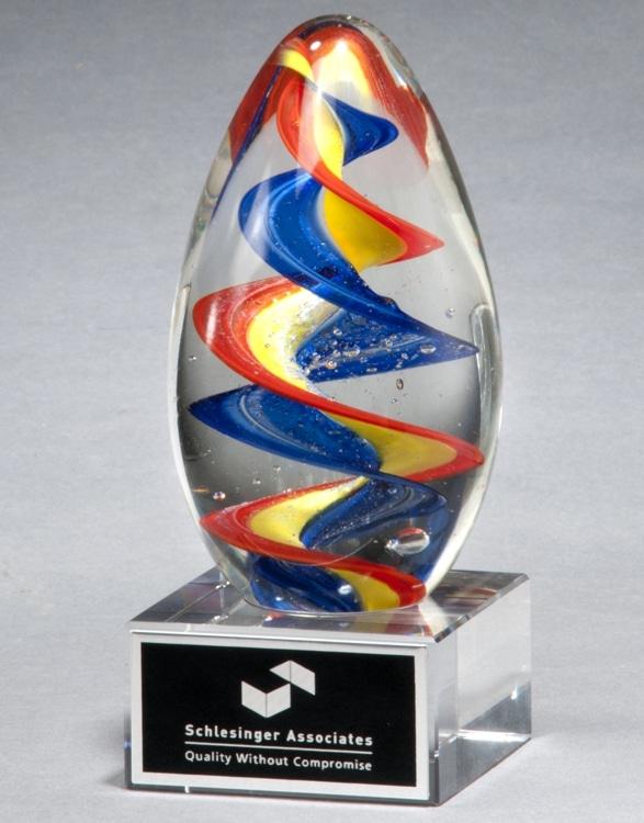 2235 Egg Glass Art Award
