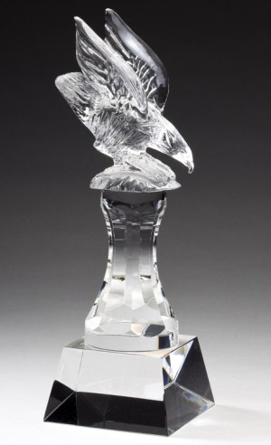 CRY178 Crystal Eagle Trophy