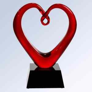 G1610 Whole Hearted Glass Art