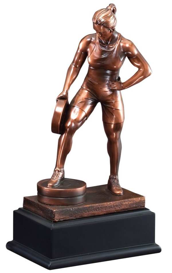 Female Weightlifting Trophy RFB085