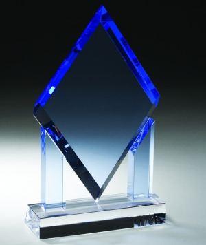 CRY243 Blue Crystal Diamond