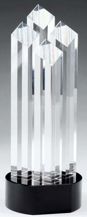 CRY491 Crystal Trophy