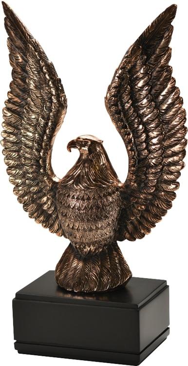60714GS Eagle Statue