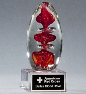 2255 Blood Glass Art Award