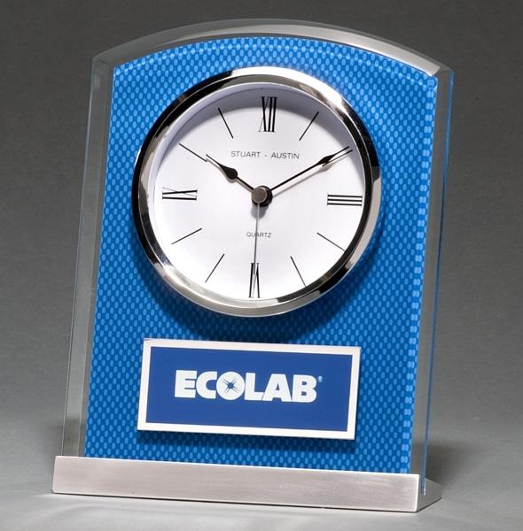 BC1007 Carbon Fiber Glass Clock