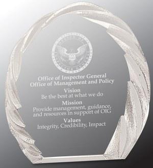 CRY143 Crystal Ice Award