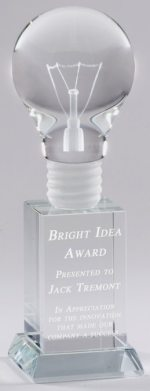 Light Bulb Trophy CRY25