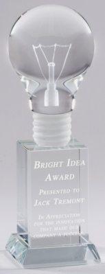 Light Bulb Trophy CRY25