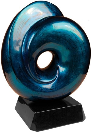 Blue Art Sculpture ASA004