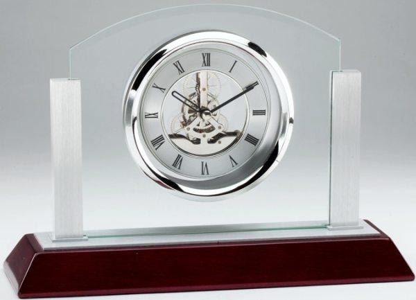 Glass Skeleton Clock RWS75