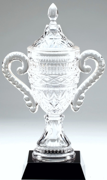 CRY386 Crystal Trophy Cup