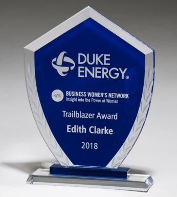 G294456 Blue Shield Glass Award