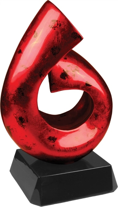 Red & Black Art Sculpture ASA003