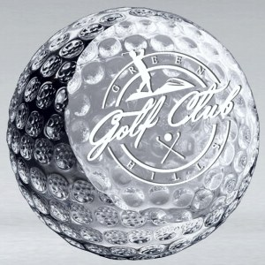 Crystal Golf Ball CRY296