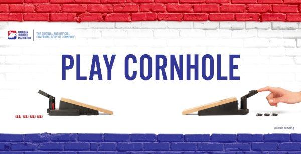 Official Mini Cornhole game for American Cornhole Association