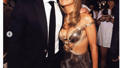 Photo of Jennifer Lopez Shares Photos From Engagement Party With Alex Rodriguez