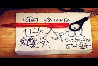 Kofi Kinaata th April Birthday Freestyle e