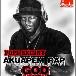 Pope Skinny – Akuapim Rap God Prod By BeatBoss Tims