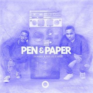 Ko Jo Cue Shaker Pen Paper