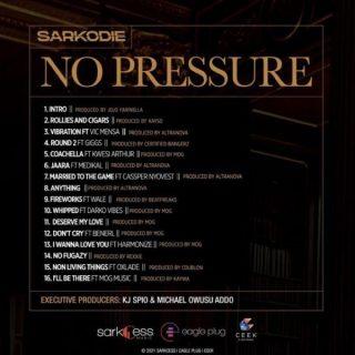 Sarkodie No Pressure Full Album