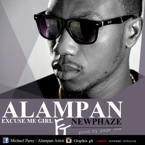 Alampan - Excuse Me Girl Ft. Newphaze (Prod by page One)