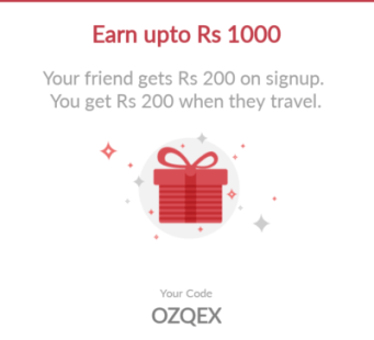 RedBus Loot - Sign Up & Get Rs  200 + Refer & Earn Rs  200