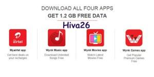 airtel free data loot offer hiva26