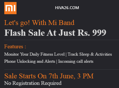 buy mi band at 999rs hiva26