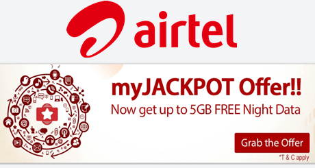 5gb 3g free internet data in airtel jackpot offer