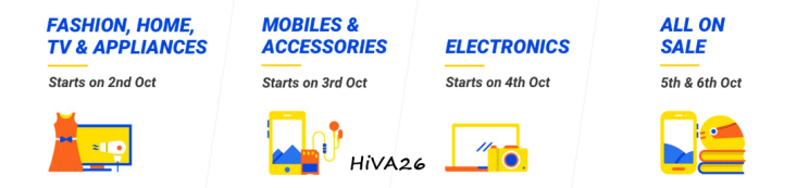 flipkart big billion days october 2016 offers date by date hiva26