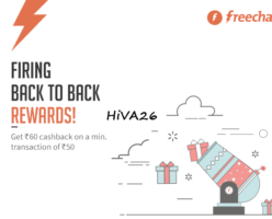 freecharge cashback offer using freecharge balance