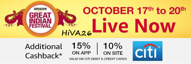 amazon great indian festival diwali sale offers hiva26