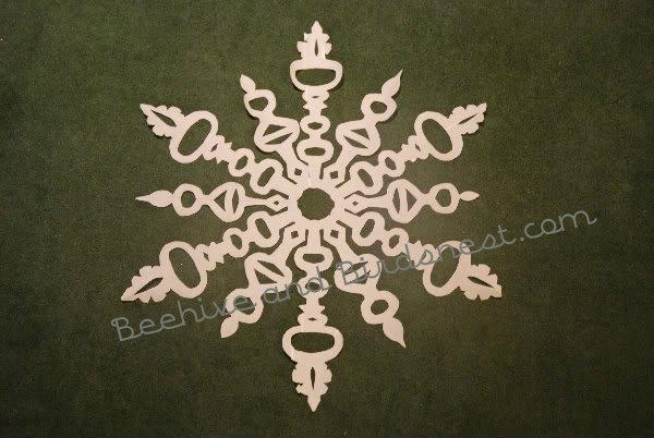 bulb snowflake