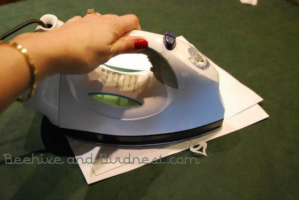 ironing snowflakes