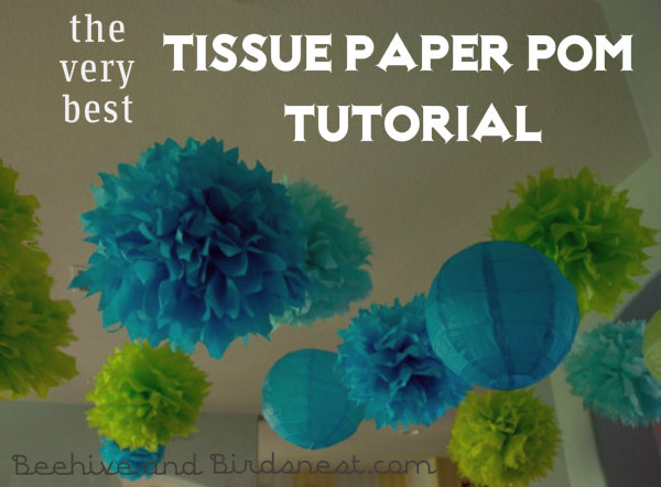 how to make small tissue paper pom poms Use a fork and toilet paper 2 incredible ways to make yarn pom poms how many times did you wrap the yarn around the toilet tissue rolls to get a nice full pom.