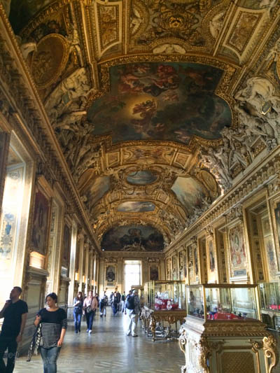 Louvre hall