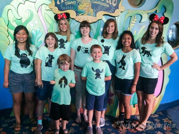 San Diego Disney Cousins