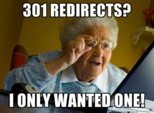Grandma Only Wants One Redirect