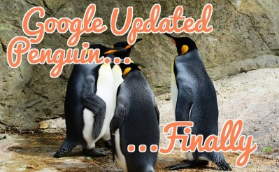 Google Updated Penguin, Finally