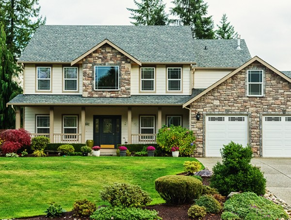 curb appeal with professional landscaping