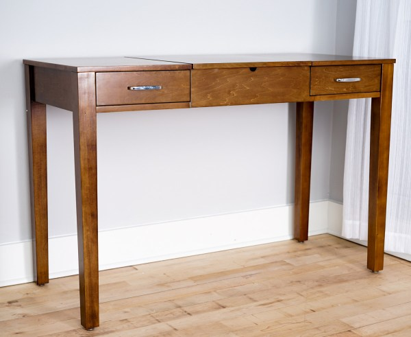 Ainsley Vanity Desk Deco Brown Hives And Honey