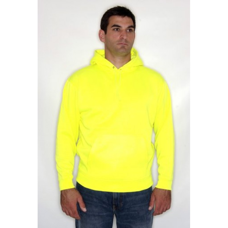 RTY Enhanced Visibility Hoodie   Hi-vis Workwear   Printed and Customised clothing   Ireland