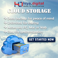 Cloud Storage Hiya Digital