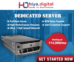 Dedicated Server Hiya Digital