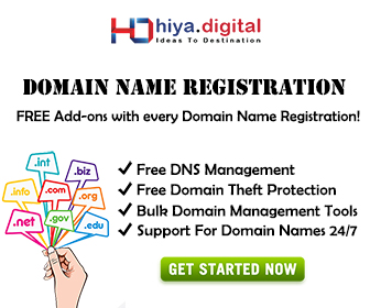 Domain Hiya Digital